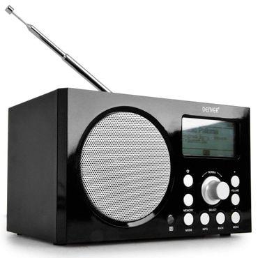 Internetradio mit DAB+, RDS, USB