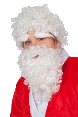 Weihnachtsmann Set Haare, Bart und Augenbrauen