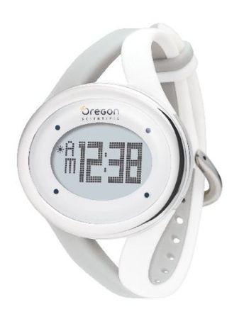 Armbanduhr Herzfrequenzmesser Zone Trainer SE 338 silbergrau weiß