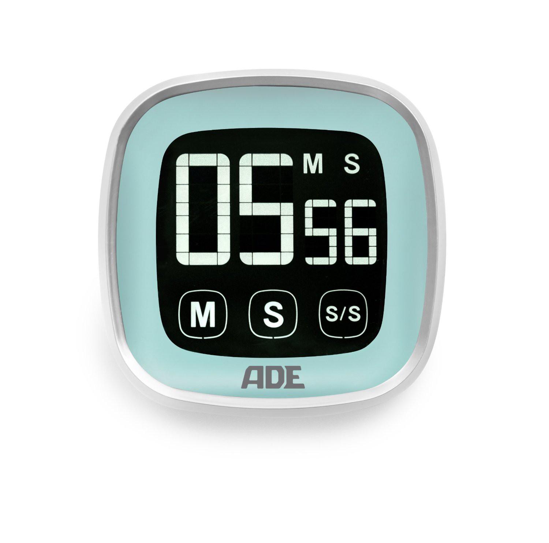 Ade TD 1300 Digitaler Küchen-Timer Eier-Uhr Stoppuhr Touch-Screen | eBay
