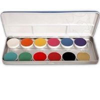 Aquacolor Pallet 12 Shades FP