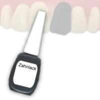 Zahnlack farbig in der 12ml Pinselflasche