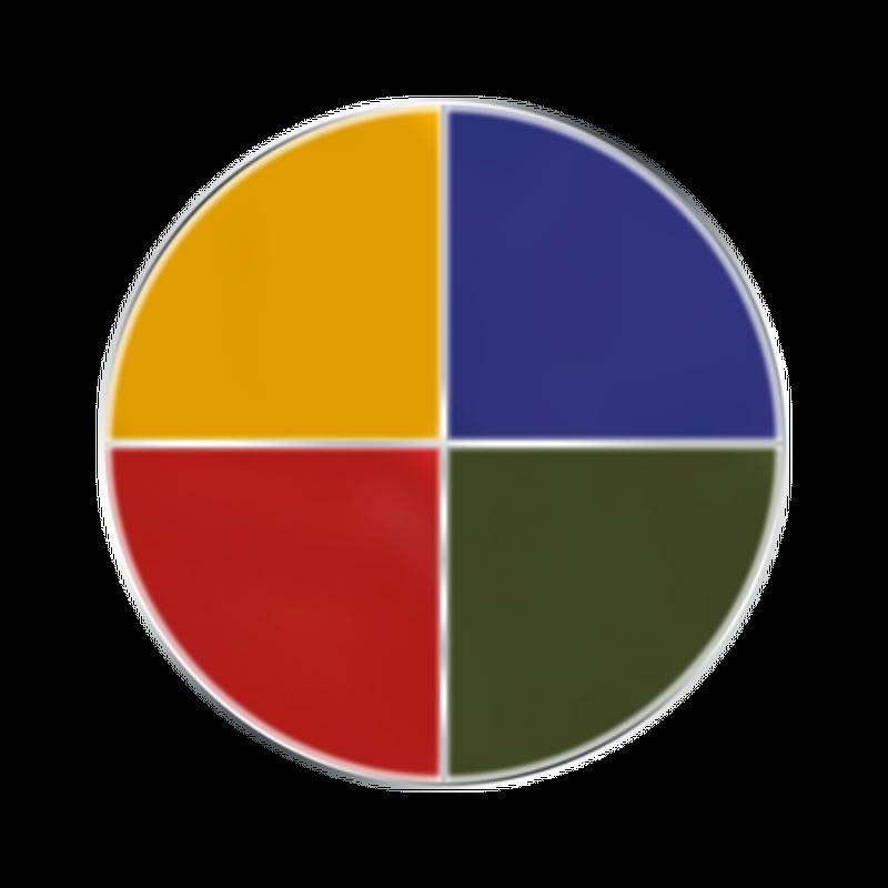 Make-up quartet, 4 colours