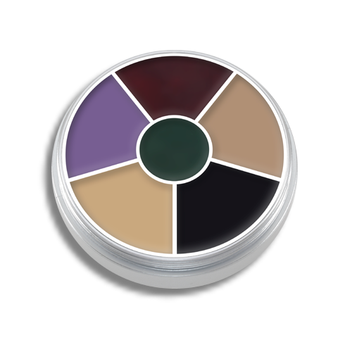 Kryolan Cream Color Circle wheel palette