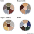 Cream Color Circle Wheel Choice of colour variants 2