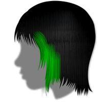 Haargel farbig 500g