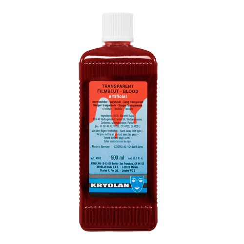 Transparent Blood 500ml