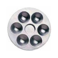 Mixing pallet aluminum 6 cups