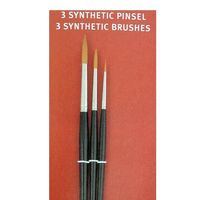 Synthetic Brush Set 3 Round Brush