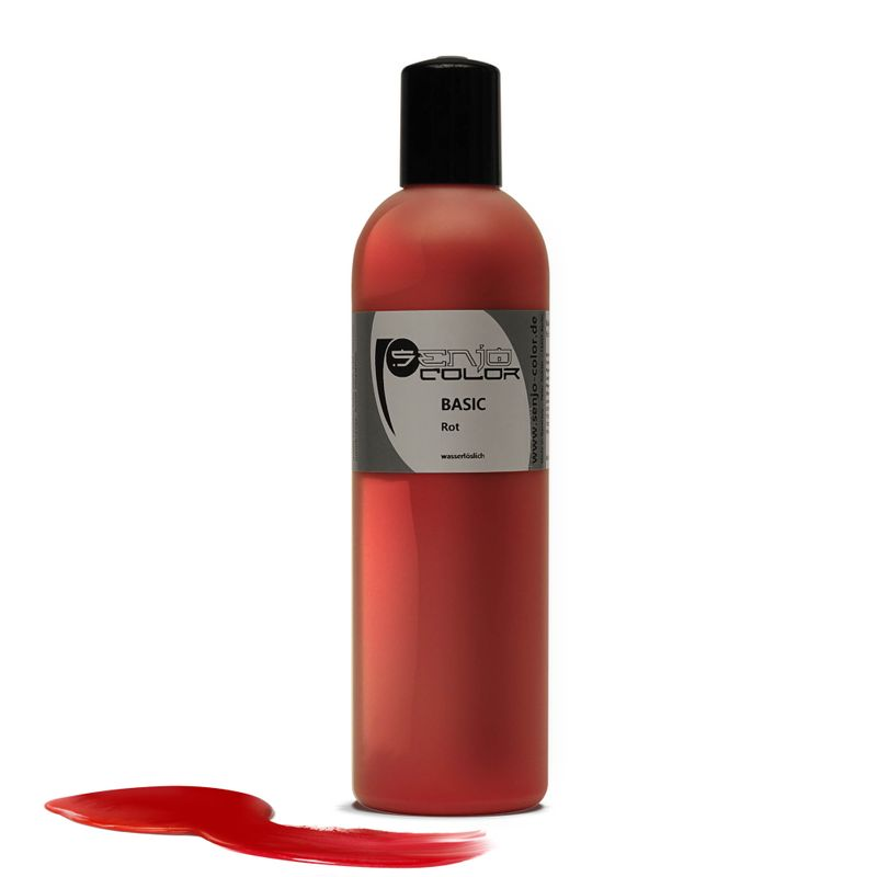 Senjo-Color Basic Bodypaint 250ml - Rot