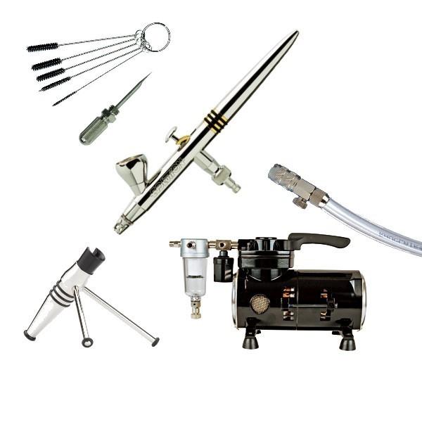 Airbrush Kit 16/2 12pieces