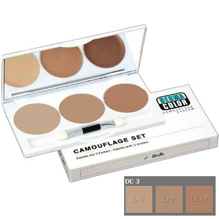 Dermacolor Camouflage 3-piece Set DC 3