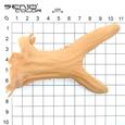 Reh Hörner Latex Applikation Grössenübersicht 1