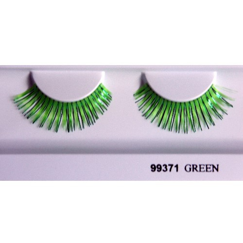 Eyelashes 'Party' 99371 green
