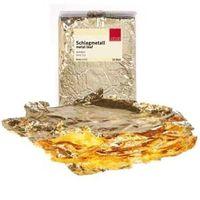 Schlagmetall Schabin Gold / Blattgold Imitat 2,5