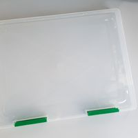 Kunststoffbox transparent A4+