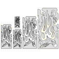 Flame Master Stencil Set by Artool
