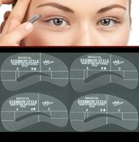 Eyebrow Spray paint stencil Kit #A1-4