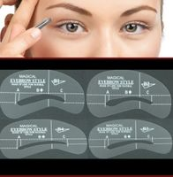 Eyebrow Spray paint stencil Kit #B1-4