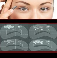 Eyebrow Spray paint stencil Kit #C5-8