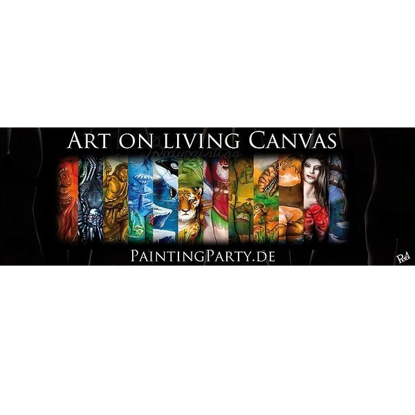 Bodypainting Kalender Art on living canvas Paintingparty