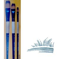 Brush A350 Synthetic double 3 piece set