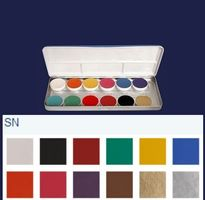 Aquacolor Palette 12 Shades sn