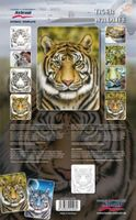 Airbrush Spray paint stencil Tiger Wildlife XL