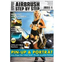 Airbrush Step by Step  Magazine - 03/2013
