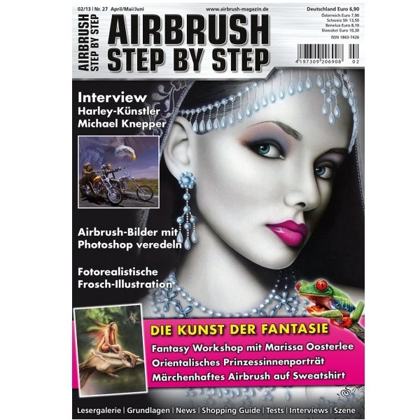 Airbrush Step by Step  Magazine - 02/2013