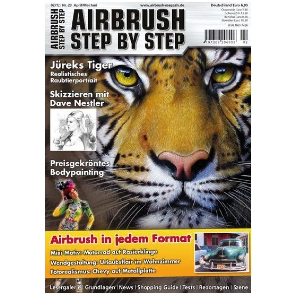 Airbrush Step by Step  Magazine - 02/2012