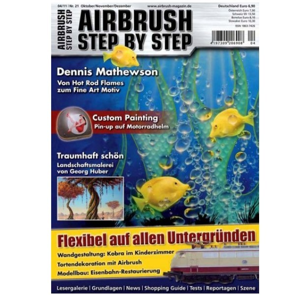 Airbrush Step by Step  Magazine - 04/2011