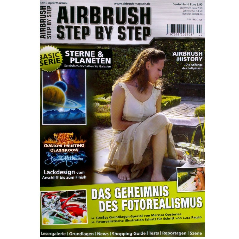 Airbrush Step by Step  Magazine - 02/2010