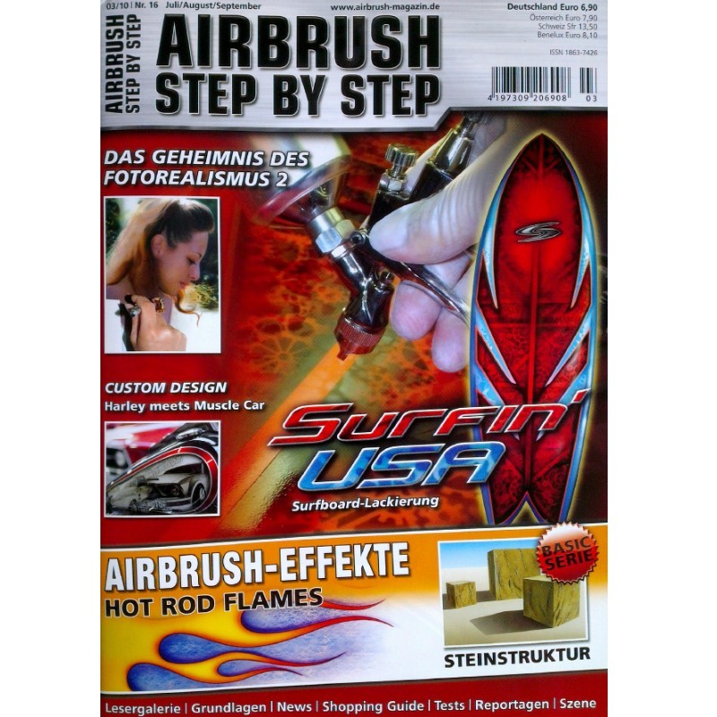 Airbrush Step by Step  Magazine - 03/2010