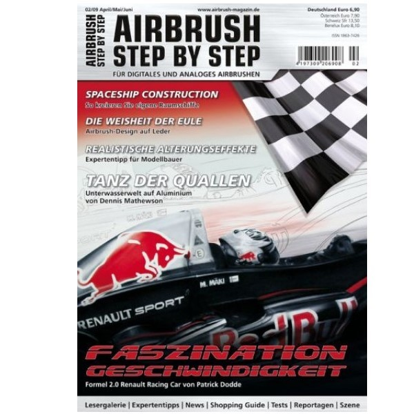 Airbrush Step by Step  Magazine - 02/2009