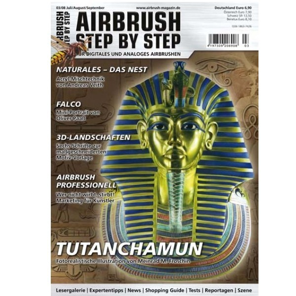 Airbrush Step by Step  Magazine - 03/2008
