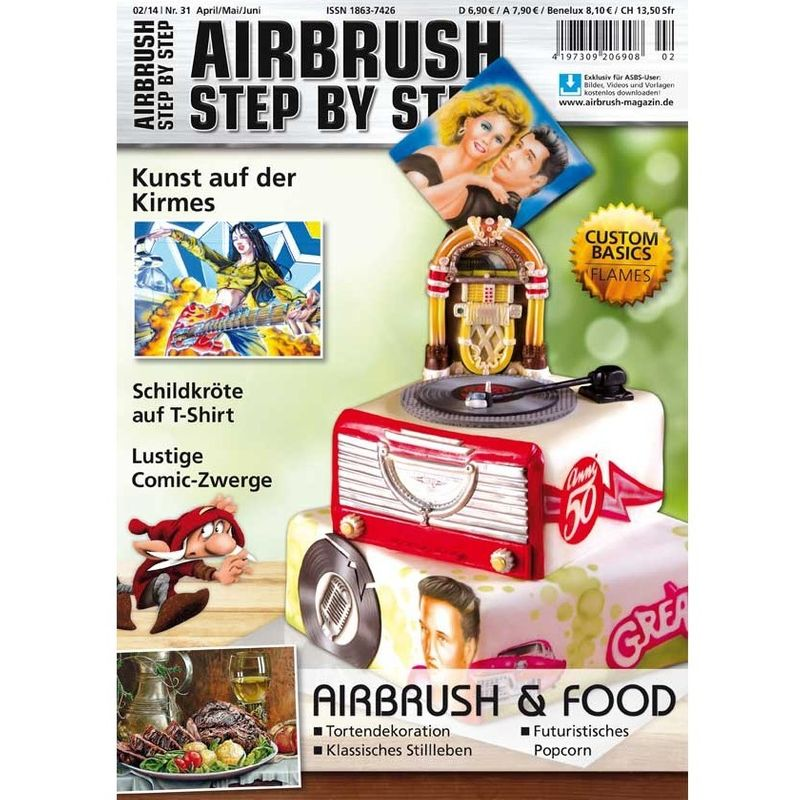Airbrush Step by Step  Magazine - 02/2014