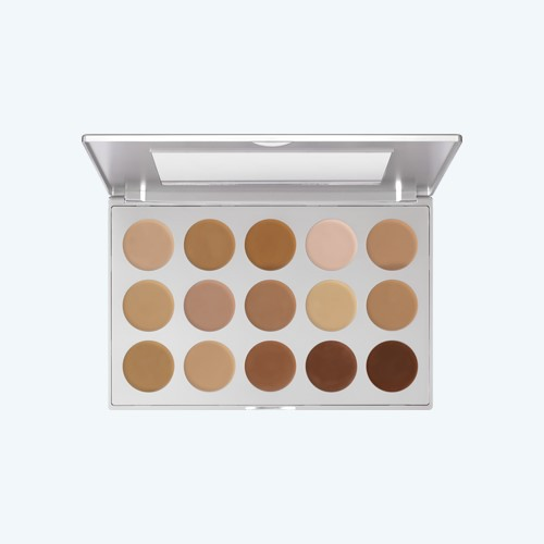 HD Micro Foundation Cream Palette 15 Farben Kryolan