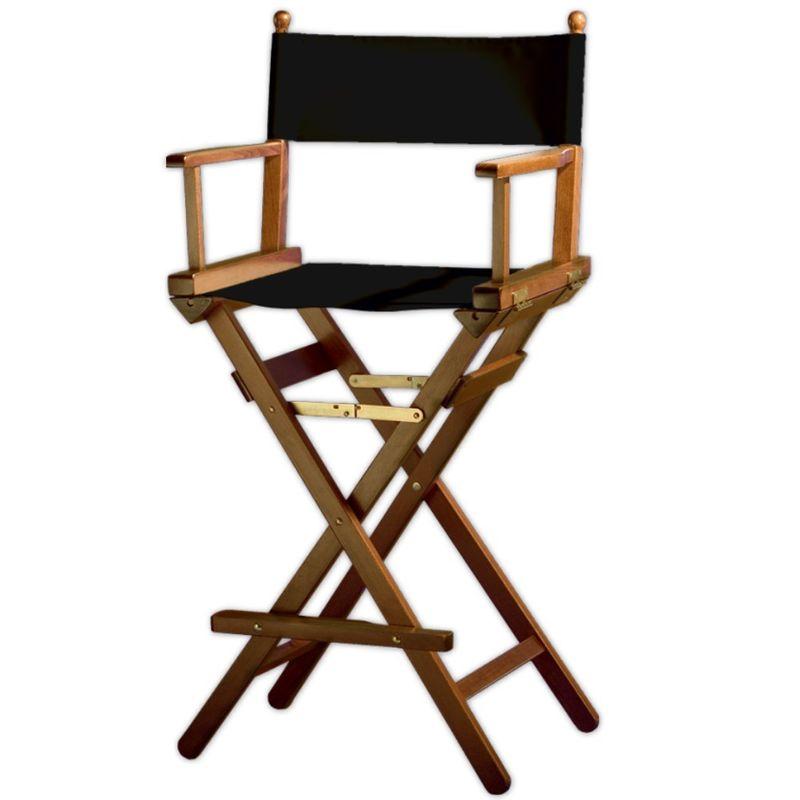 Director Chair >Makeup< brown solid beech wood