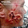 Horror Maske Effekt von Enrico Lein mit Senjo Latex und Blut