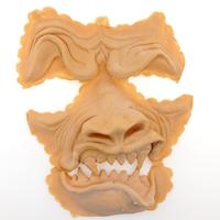 Werwolf Gesicht Latex Applikation