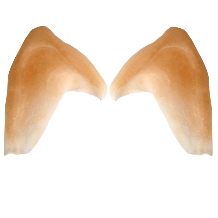 Elven Ears Tips Latex application