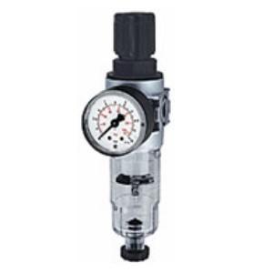 Wasserfilter für Druckluft mit Regler und Manometer