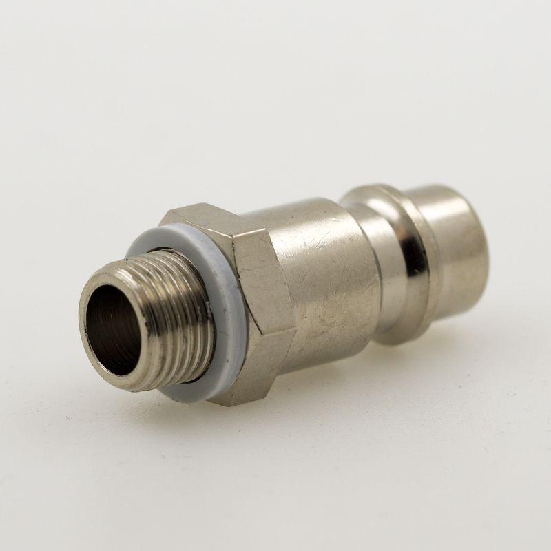 """Stecknippel NW 7,2mm mit 1/8"""" AG Gewinde"""