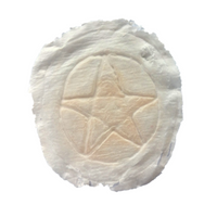 Branded pentacle latex application