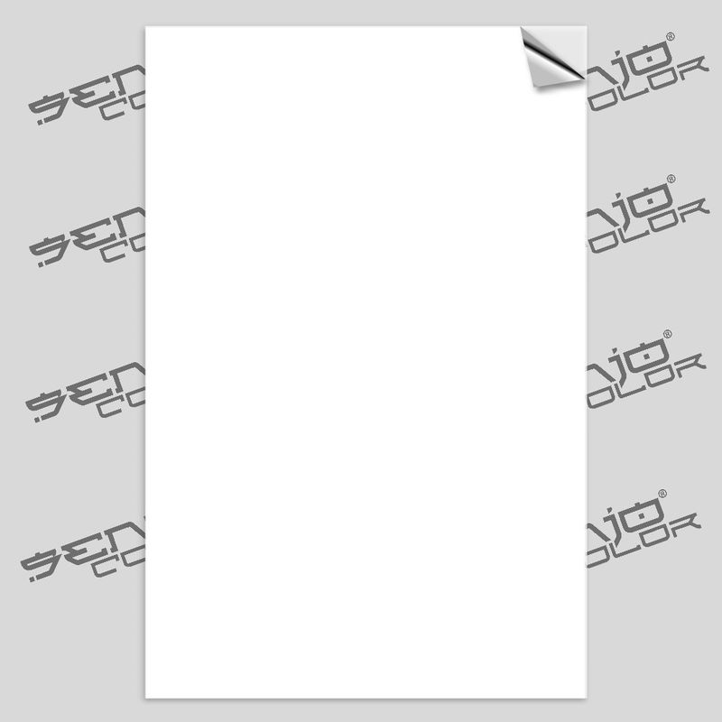 Senjo Spray paint stencilsheet adhesive white 125µ One Sheet  A4