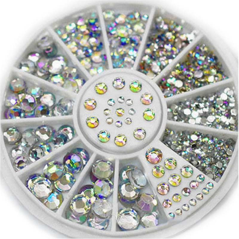 Senjo Diamonds Crystal Glitter Rhinestone 1,5/2/3/4/5mm