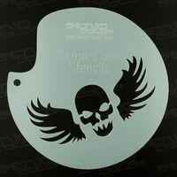 Schablone Skull Senjo-Color Art Stencil