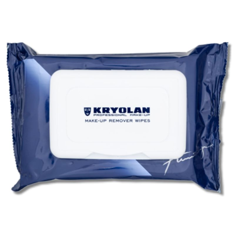 Make-up Remover Wipes Soft Pack - Kryolan