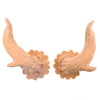 Deer horns latex application
